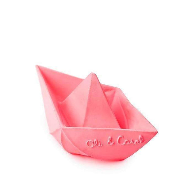 Oli & Carol,Origami Boats, for Teething and Bath,CouCou,Toy