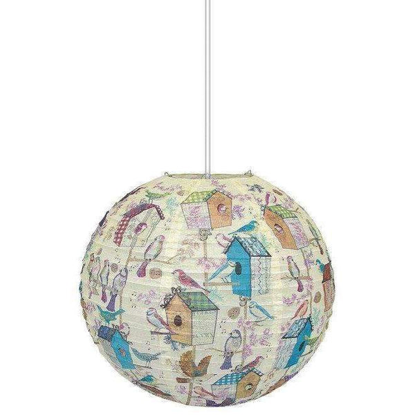 Roger La Borde,Birdhouse Paper Lantern,CouCou,Home/Decor