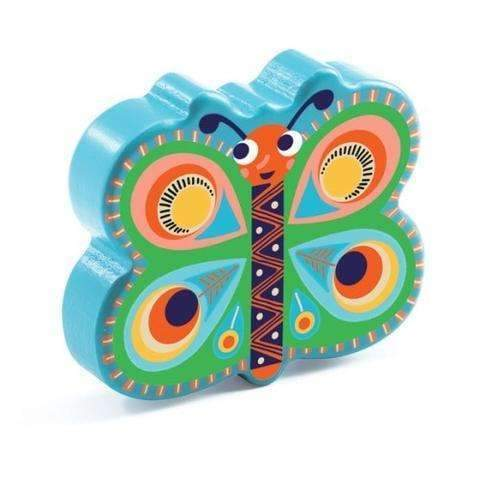 Djeco,Animambo Butterfly Maracas,CouCou,Toy