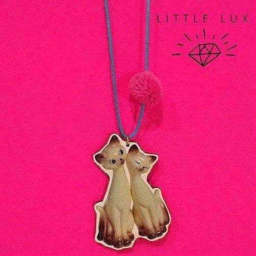 Gunner & Lux,I am Siamese Necklace,CouCou,Girl Accessories & Jewellery