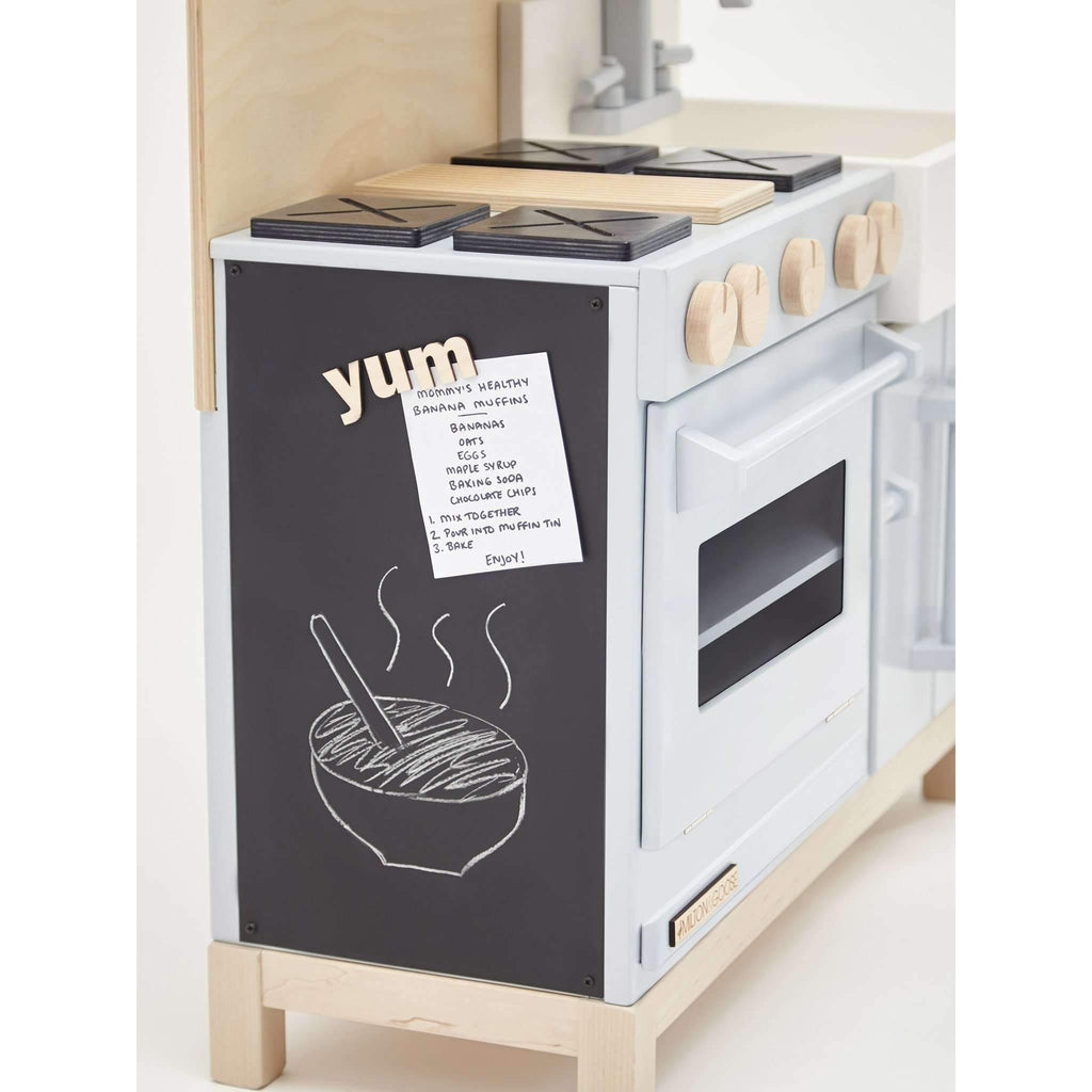 Milton & Goose,The Dream Play Kitchen, Grey,CouCou,toys