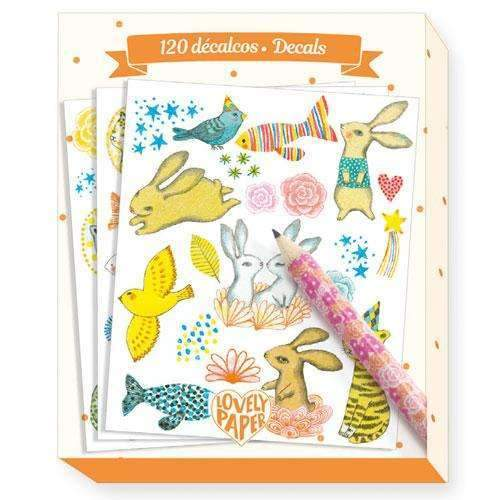Djeco,120 Elodie Decals,CouCou,Arts & Crafts