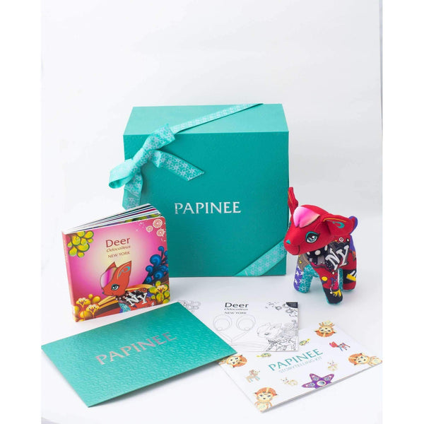 Papinee,Deer Amuse & Book Storytelling Gift Set,CouCou,Gift Set