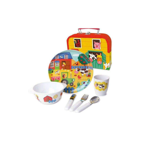 Farm Melamine Dish Set