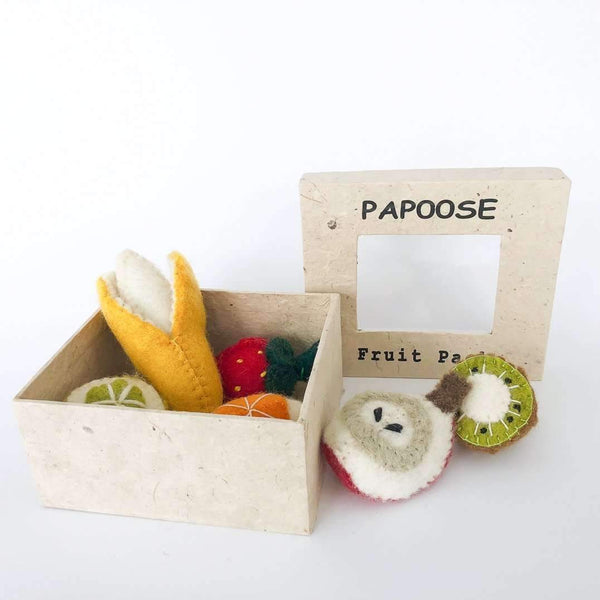 Papoose,Mini Fruit 6pc Set,CouCou,Toy