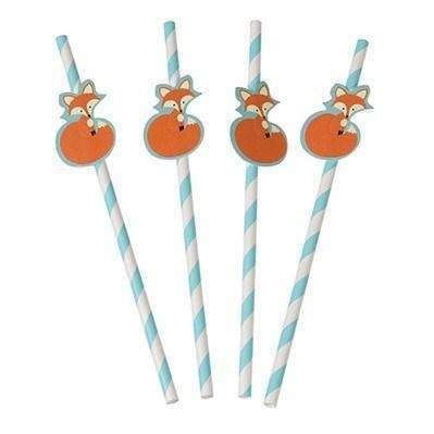 Rusty the Fox Party Straws