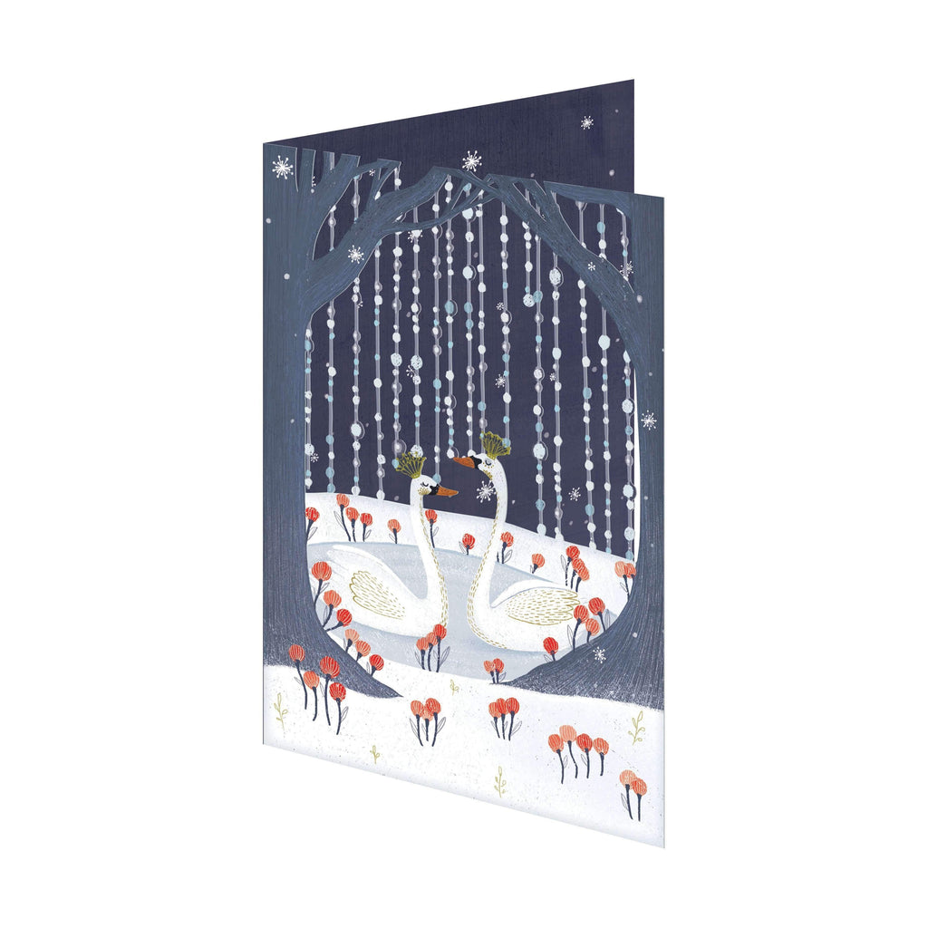 Roger La Borde,Swan Lake Holiday Card,CouCou,Crafts & Stationary