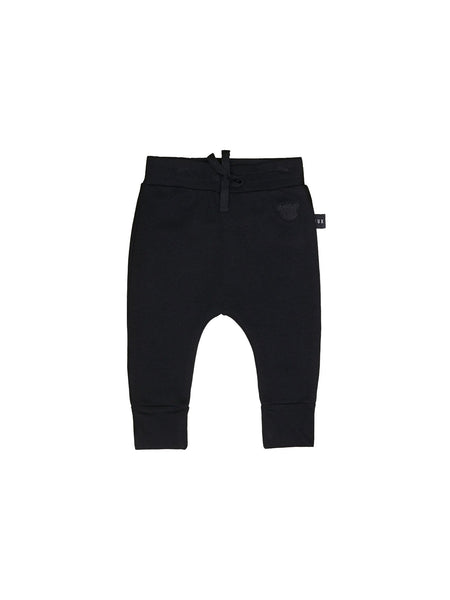 Huxbaby,Black Drop Crotch Pant,CouCou,Boy Clothes