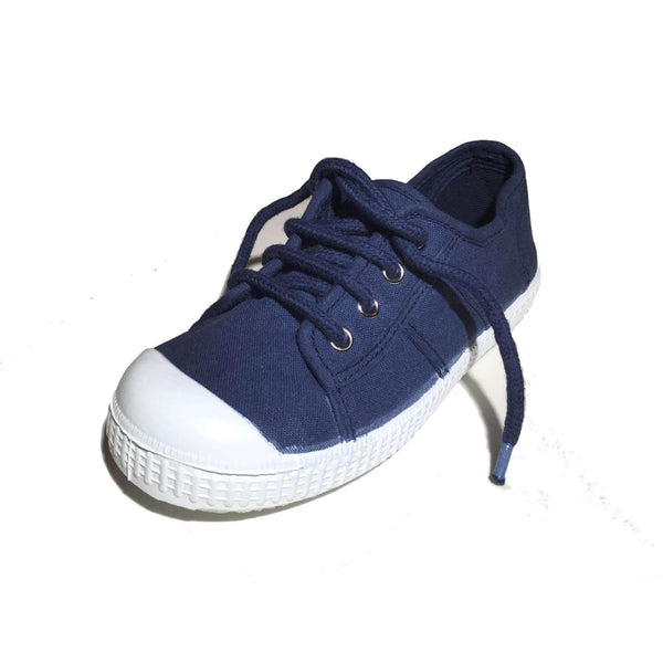 Za-patitos,Lace-up Sneakers, Navy,CouCou,Boy Shoes & Socks