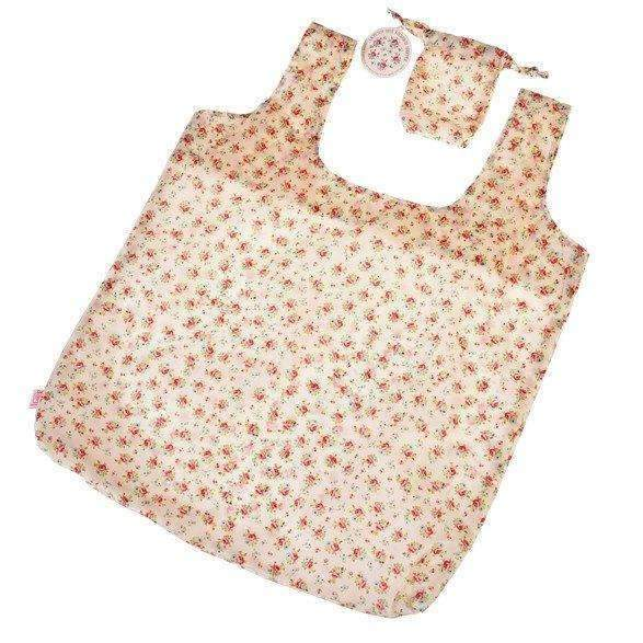 Rex,Foldaway & Reusable Shopping Bag in La Petite Rose,CouCou,Home/Decor