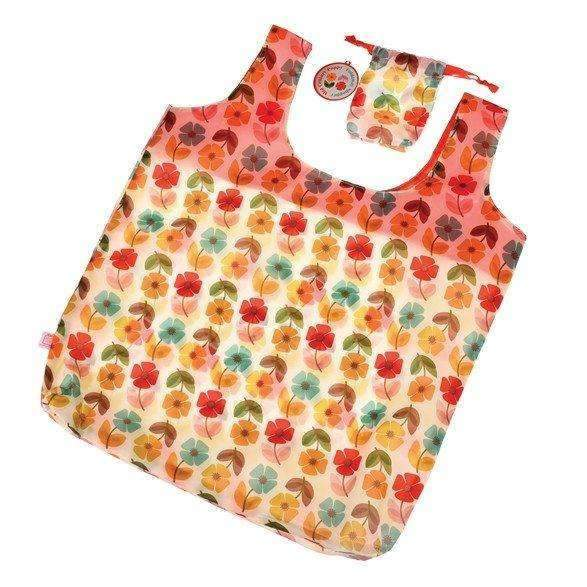 Rex,Foldaway & Reusable Shopping Bag in Poppy,CouCou,Home/Decor