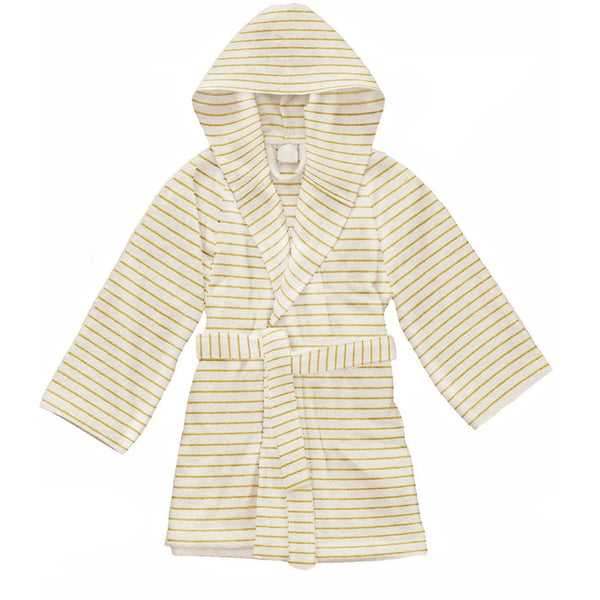 Konges Slojd,Terry Bathrobe in  Striped Sunflower,CouCou,Unisex Clothes