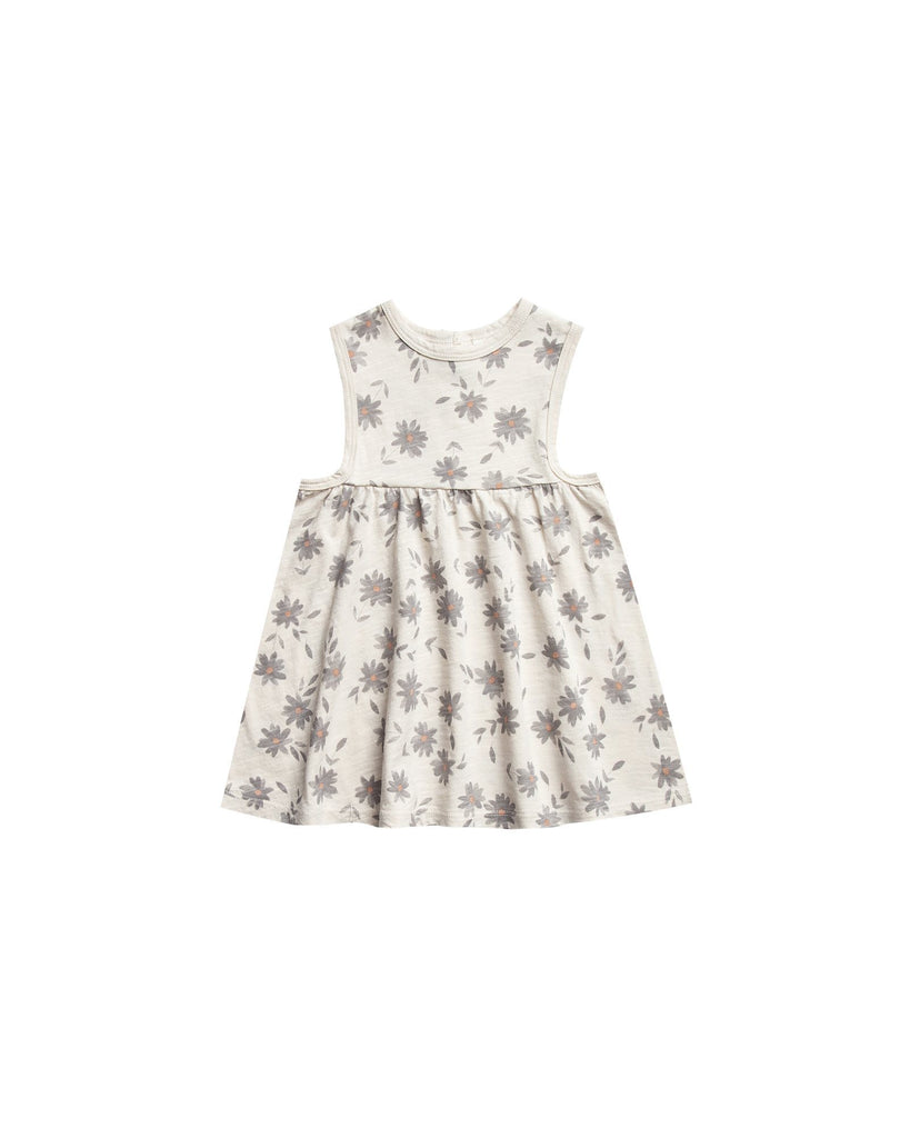 Rylee + Cru,Daisies Layla Dress in Natural,CouCou,Girl Clothes