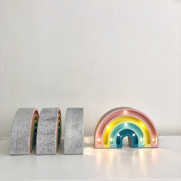 Little Lights,Mini Rainbow Lamp with Glitter - Retro,CouCou,Home/Decor