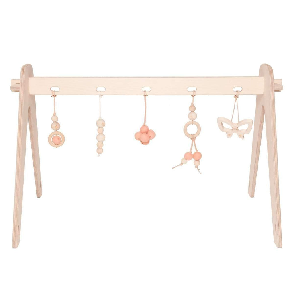 Loullou,1st Play Baby Gym and Accessories in Rose,CouCou,Toy