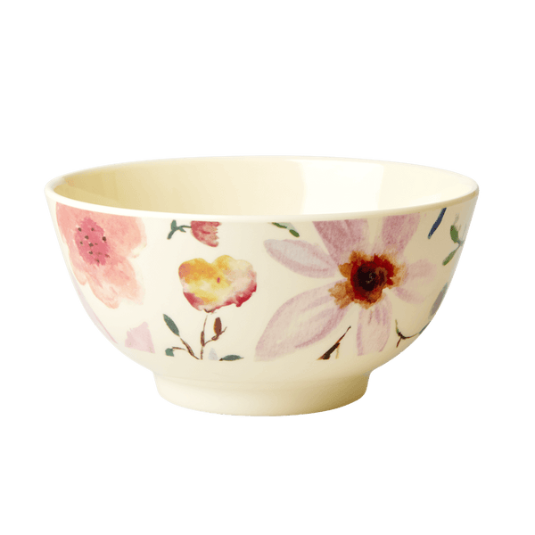 RICE,Bowl with Selmas Flower Print,CouCou,Kitchenware