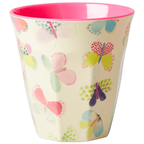 Cup with Butterfly Print