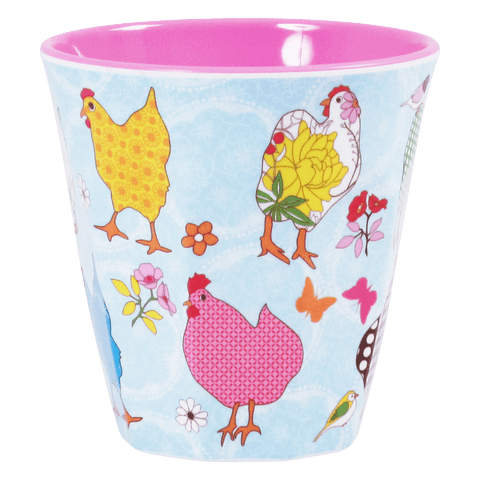 Cup with Hen Print