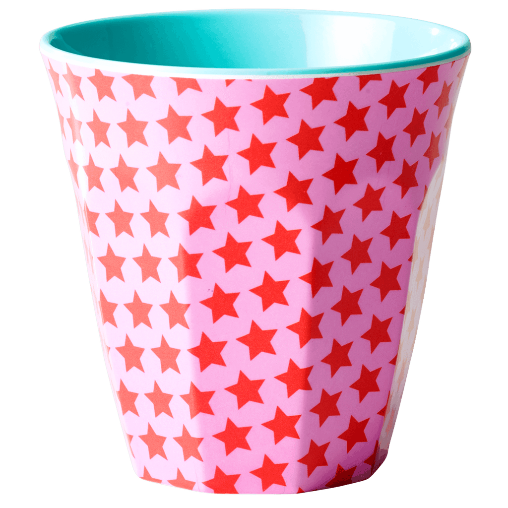 RICE,Cup with Girls Star Print,CouCou,Kitchenware