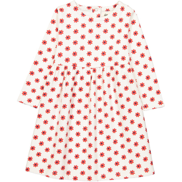 Hello Simone,Suzanne Dress in Etoile Red,CouCou,Girl Clothes