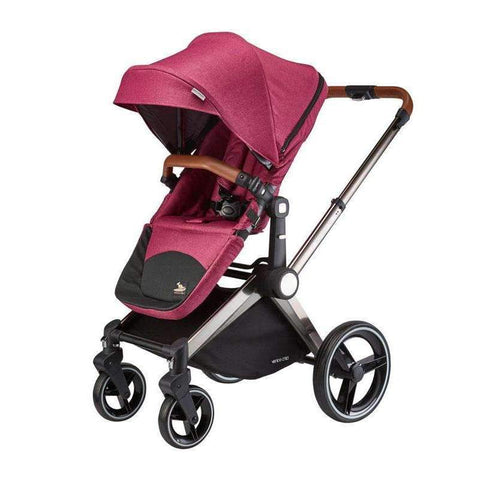 Kangaroo Stroller and Bassinet, Orchid