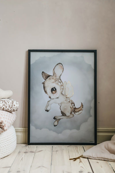 Mrs. Mighetto,Dear Kid - 50x70cm Limited Edition Print,CouCou,Nursery Art