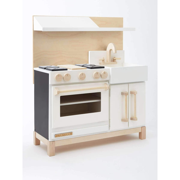 Milton & Goose,The Dream Play Kitchen, White,CouCou,toys
