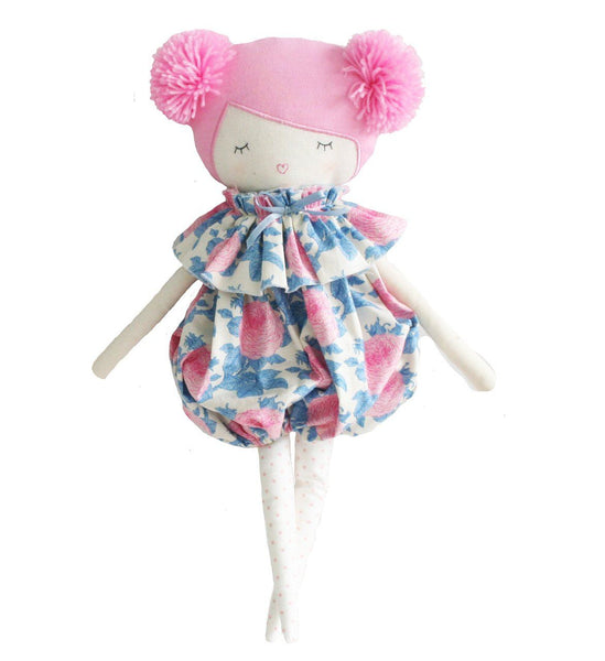 Alimrose,Meg Romper Doll with Pink Hair,CouCou,Toy