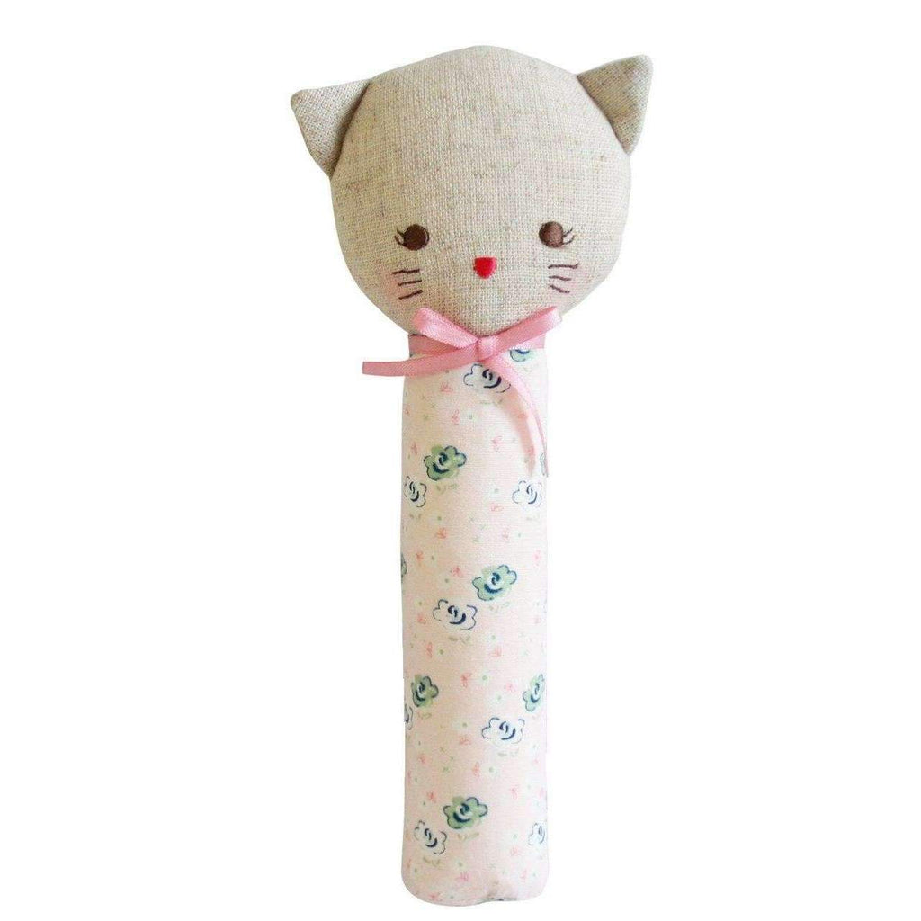 Alimrose,Odette Kitty Squeaker in Blush,CouCou,Toy