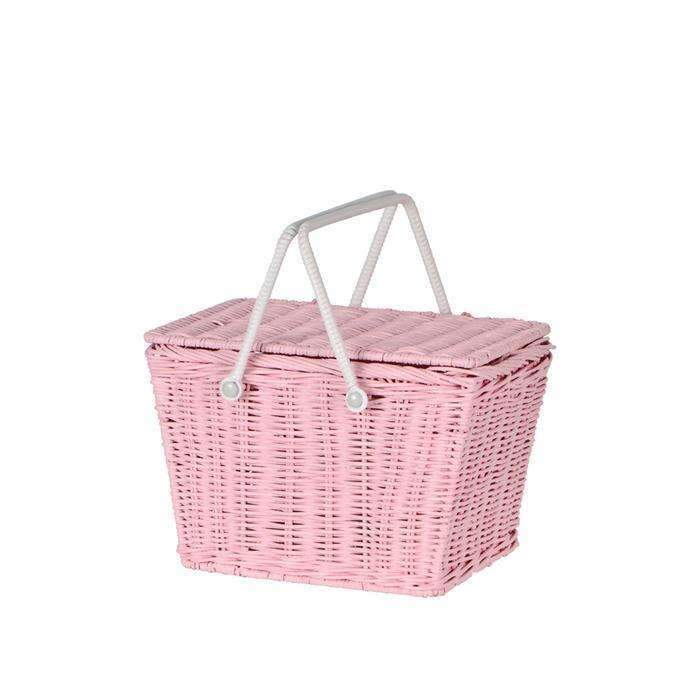 Olli Ella,Pink Picnic Basket,CouCou,Accesories
