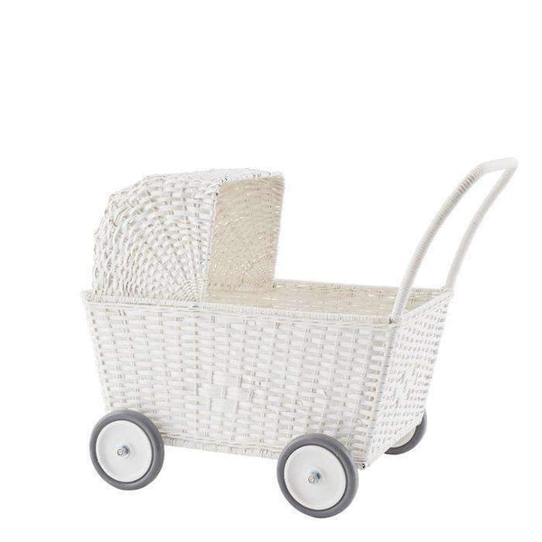 Olli Ella,Strolley Trolley in White,CouCou,Toy