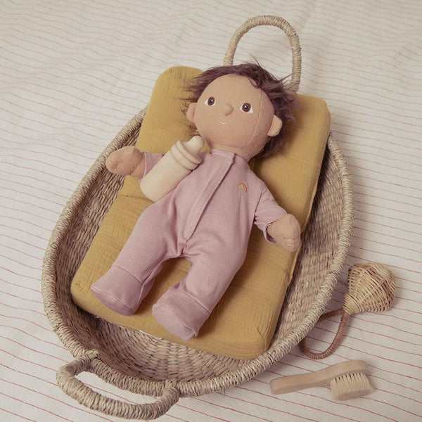 Olli Ella,Doll Nyla Woven Changing Tray,CouCou,Toy
