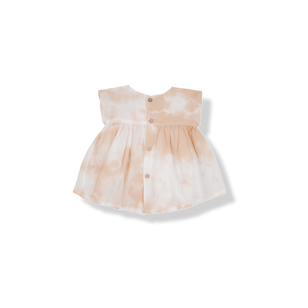 One more In The Family,Paola Dress in Rose,CouCou,Baby Girl Clothes