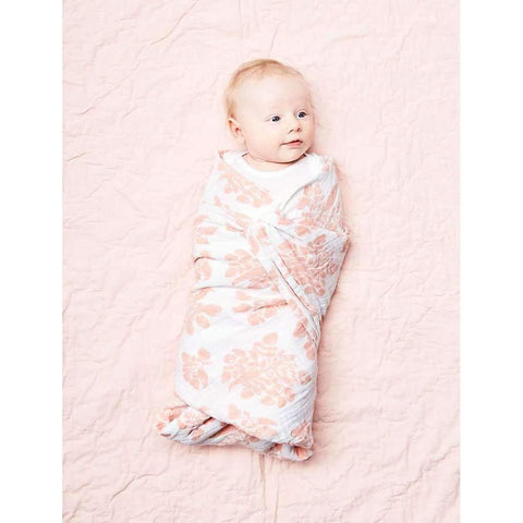 Swaddle in Blush Parsnip