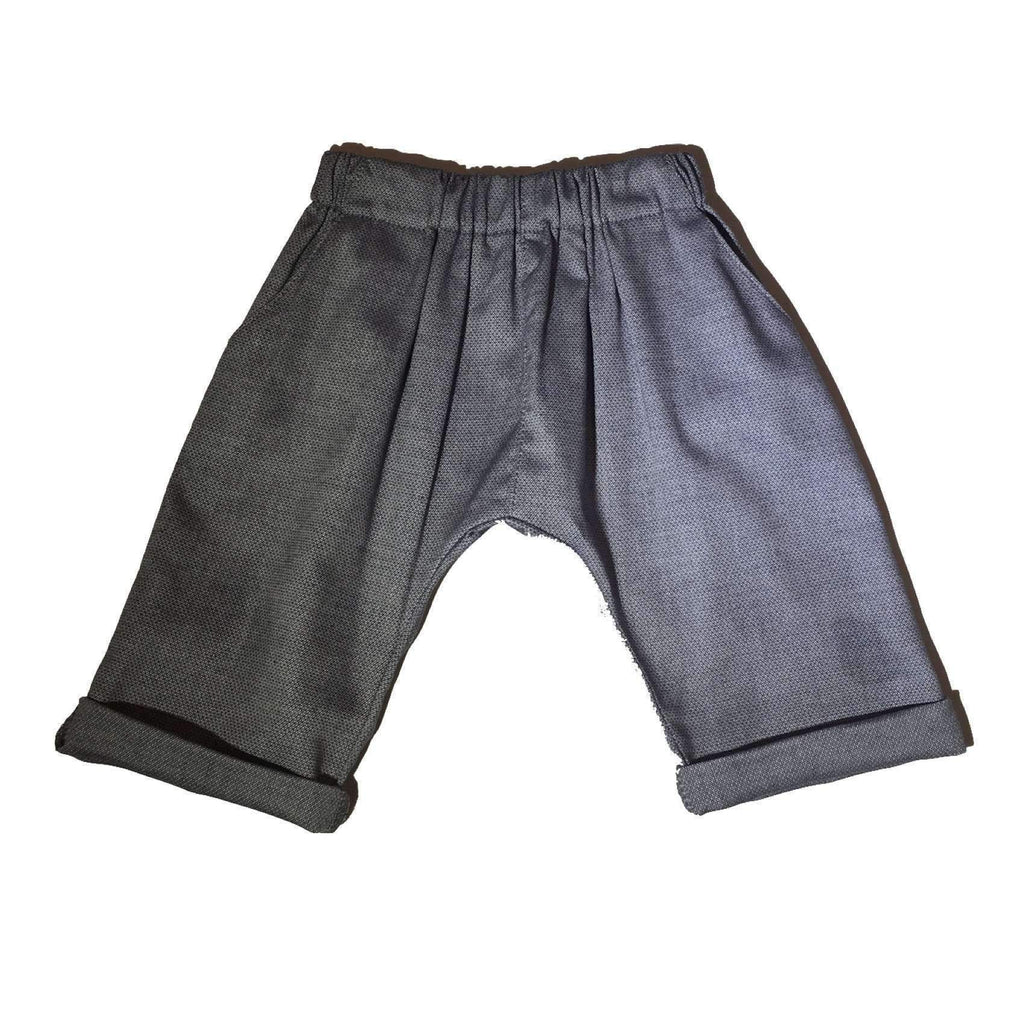 Mi.Le,Pelton Pant in Blue/Grey,CouCou,Baby Boy Clothes