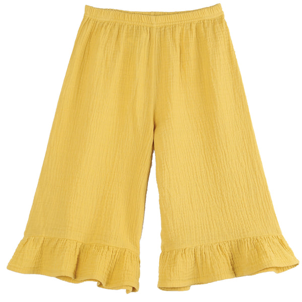 Emile et Ida,Bell Bottom Cropped Pants,CouCou,Girl Clothes