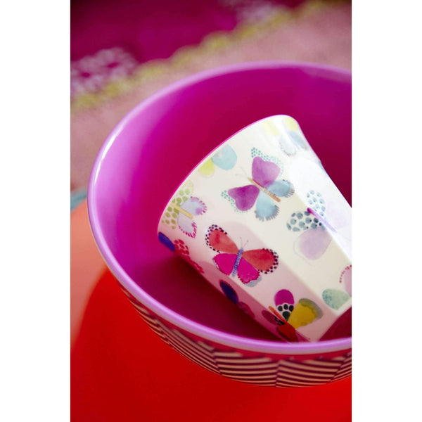 RICE,Cup with Butterfly Print,CouCou,Kitchenware