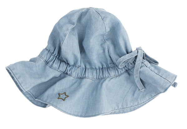Tocoto Vintage,Baby Tencel Cap in Blue,CouCou,Baby Accessories
