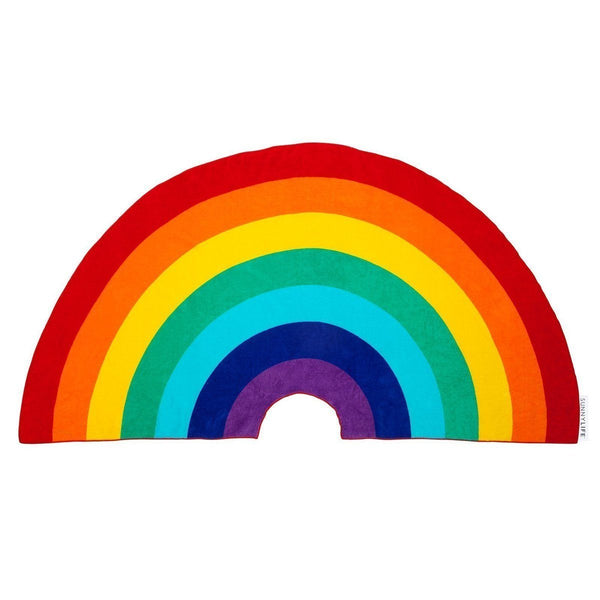 Sunnylife,Rainbow Shaped Towel,CouCou,Girl Accessories & Jewellery