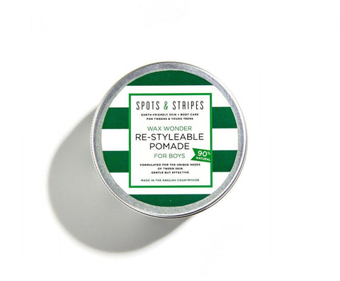 Boys Wax Wonder Re-Stylable Pomade