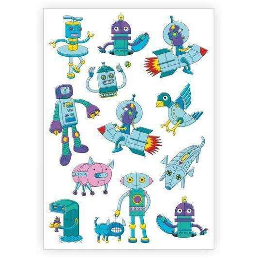 Ducky Street,Robot Tattoos,CouCou,Accesories