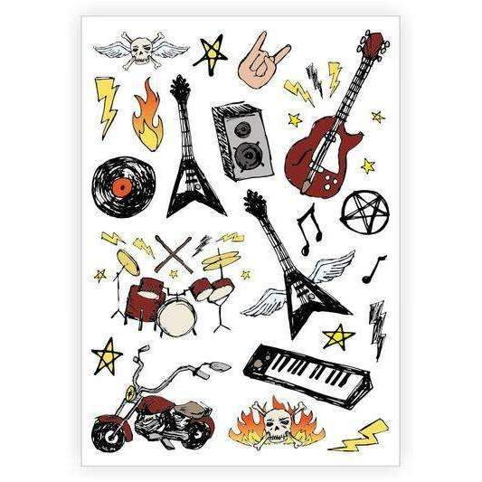 Ducky Street,Rock'n'Roll Tattoos,CouCou,Accesories