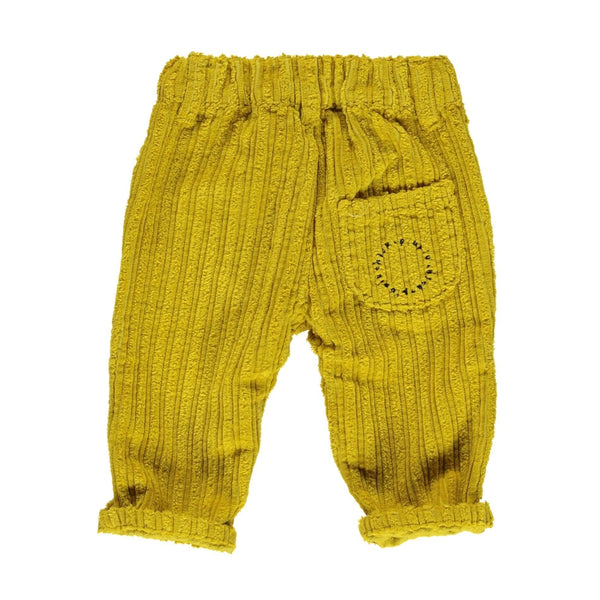 piupiu chick,Corduroy Trousers in  Mustard,CouCou,Baby Boy Clothes