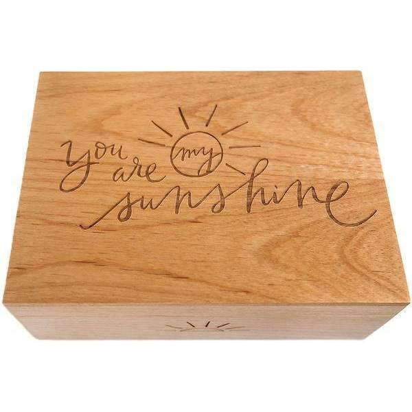 Cardtorial,Keepsake Box - You are my Sunshine,CouCou,Mamma Jewellery & Gifts