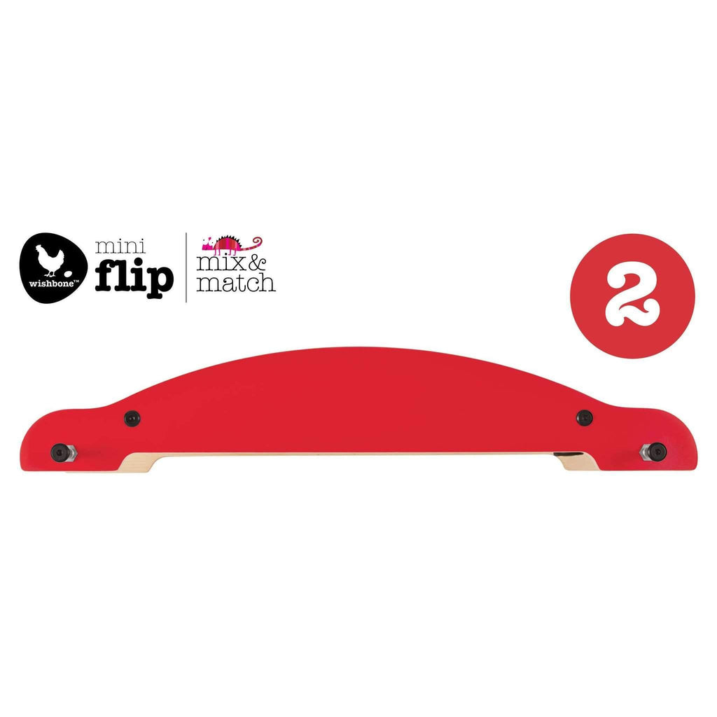 Wishbone Design Studio,Mini-Flip: Mix and Match (2) Base - Red,CouCou,Toy