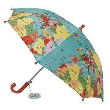Kids Umbrella, World Map