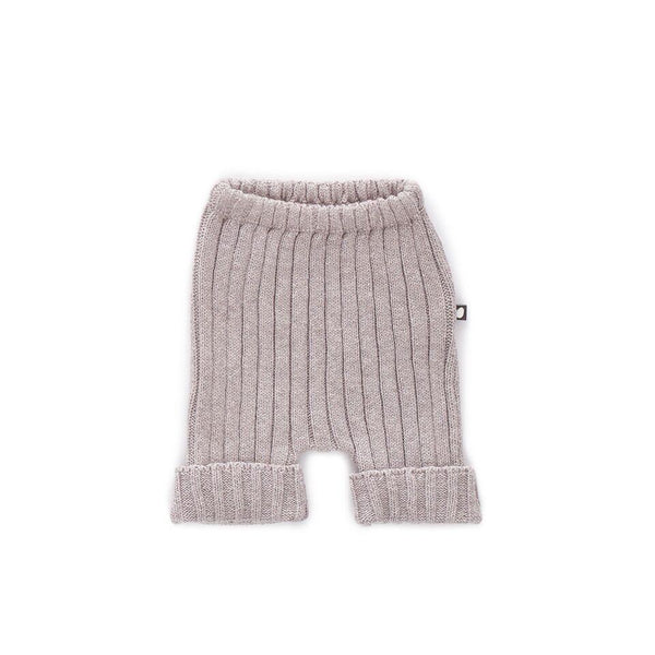 Oeuf,Everyday Baby Shorts in Light Grey,CouCou,Unisex Baby Clothes