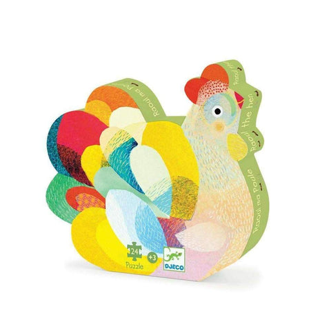 Raoul the Hen, 24 pieces