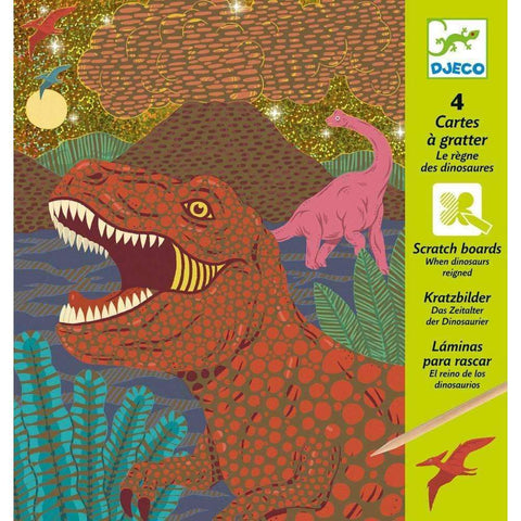 Dinosaurs Scratch Cards