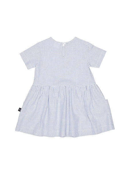 Huxbaby,Darcy Striped Dress,CouCou,Baby Girl Clothes